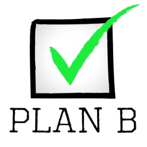 Plan B box with checkmark